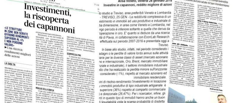 RENDIMENTI ELEVATI E BASSO RISCHIO: Investire nel capannone conviene!