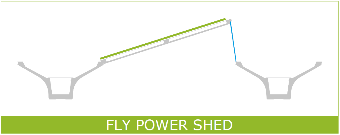 Fly Power Shed